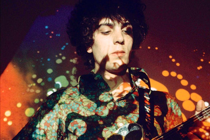 Pink Floyd's Syd Barrett performing in 1967