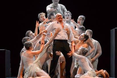 Hellbound: Christopher Maltman in Ivan Fischer's new Don Giovanni for Edinburgh