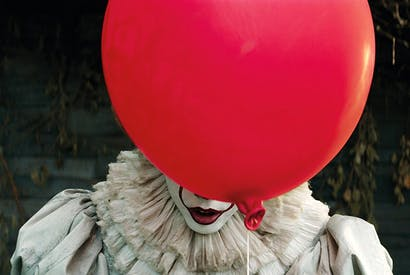 """Tears of a clown: 'Clowns hate Stephen King. They blame him for the """"creepy clown"""" epidemic, which has led to multiple clown arrests'"""