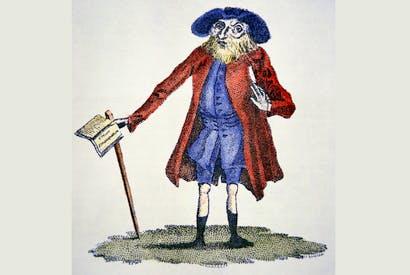 Benjamin Lay (American School, 18th century)