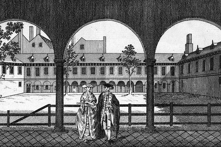 School of thought: the site of the first college in Bishopsgate