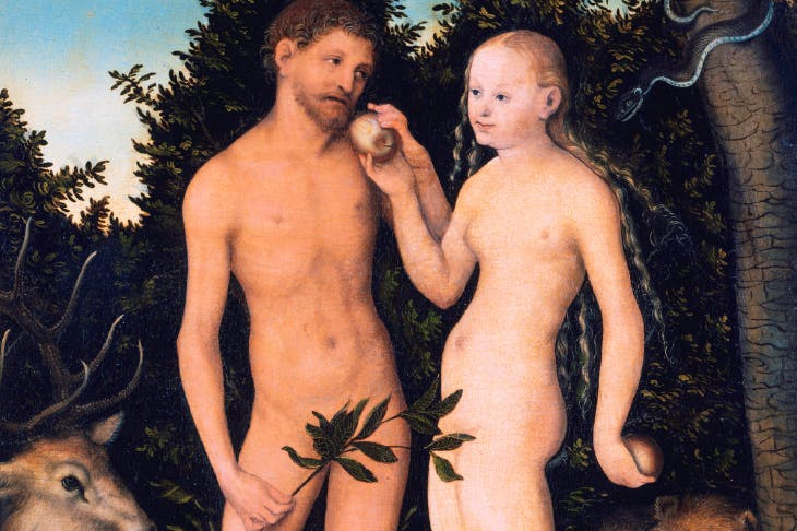 'Adam and Eve in Paradise', by Lucas Cranach the Elder (1531)