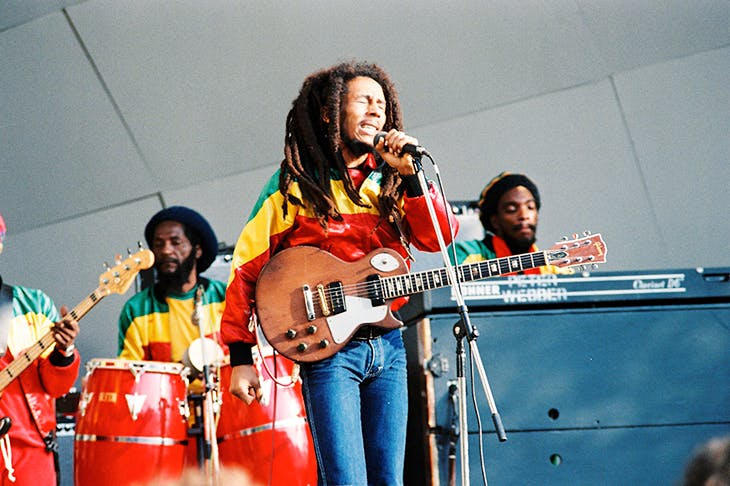Bob Marley and the Wailers at the Crystal Palace Bowl, 7 June 1980