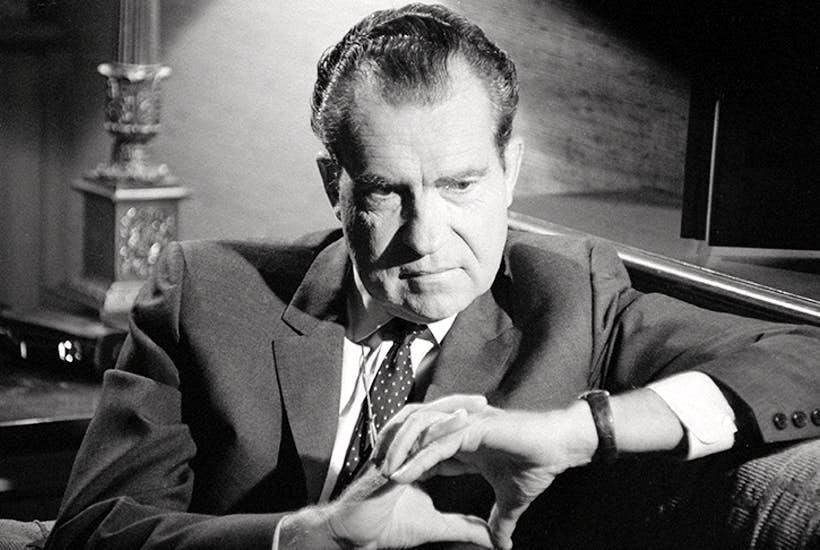 Richard Nixon in September 1968