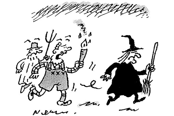 'I hope this witch hunt doesn't turn into an official inquiry.'