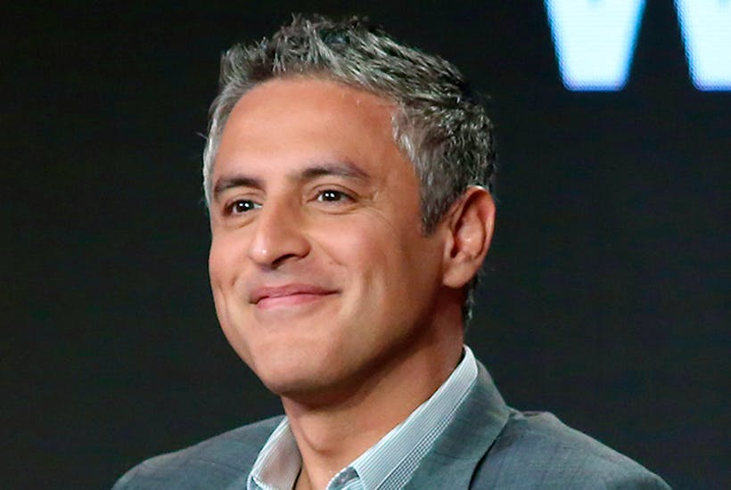 Reza Aslan: personable, charismatic and a keen self-publicist. He could be wearing togas and flying around in a private jet in five years' time
