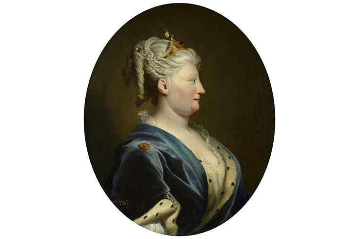 Portrait of Queen Caroline by Joseph Highmore, c.1735