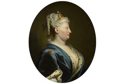 Portrait of Queen Caroline by Joseph Highmore, c.1735