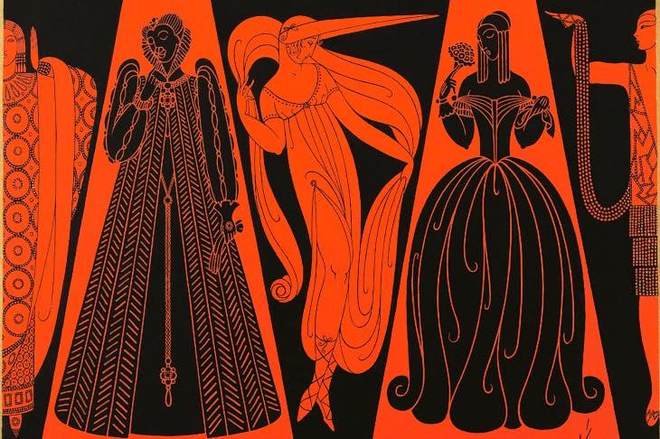 'Les Modes se suivent et ne se ressemblent pas', 1926, cover design for Harper's Bazaar
