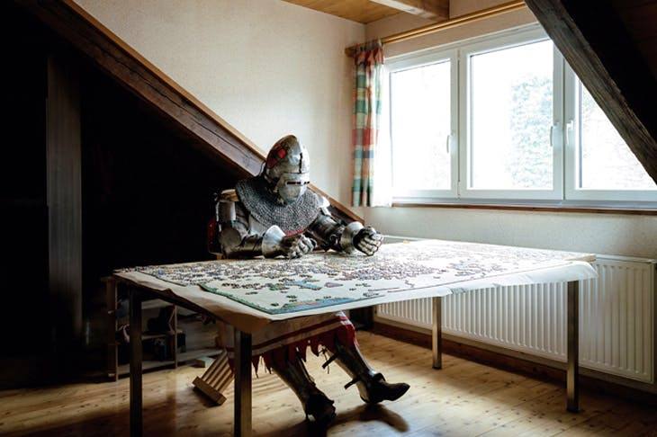 Before the larp: 'Just the two of us', 2013, by Klaus Pichler