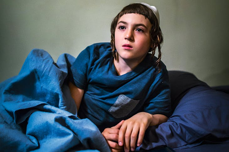 About a boy: Ruben Niborski as Rievan in Menashe