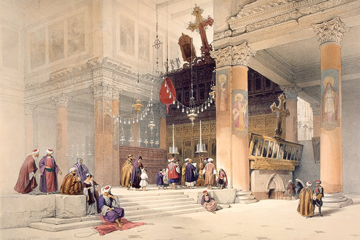 'The Church of St Helena, Bethlehem', by David Roberts