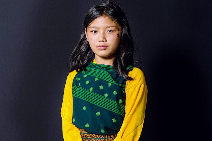 What makes this Bhutanese schoolgirl happy?