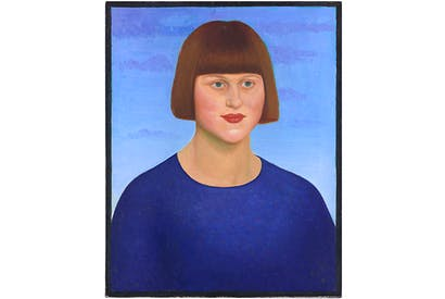 Portrait of Carrington by Mark Gertler