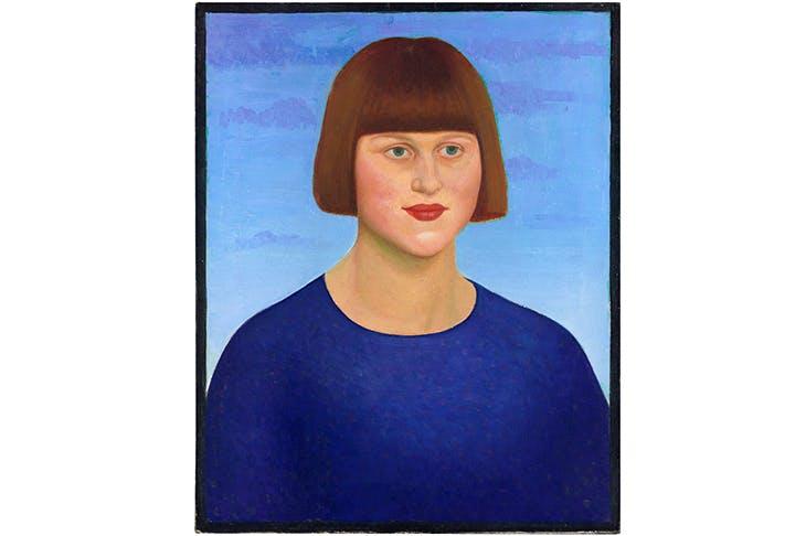 Portrait of Carrington by Mark Gertler