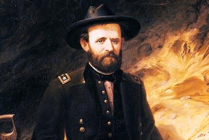 Portrait of Ulysses Grant by Ole Peter Hansen Balling