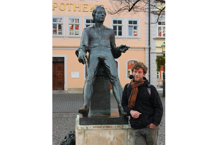 J.S. Bach and Horatio Clare in Arnstadt