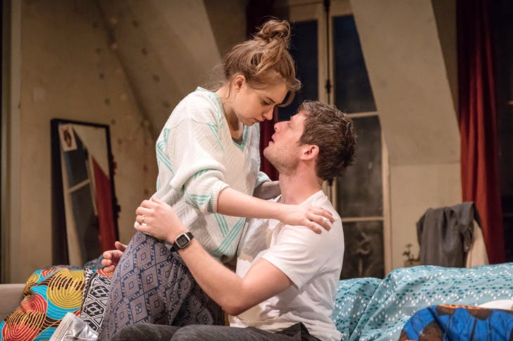 Americans in Paris: Imogen Poots as Abby and James Norton as Zack in Belleville