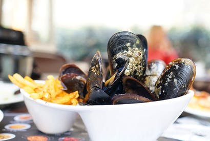 Superfood: Salty shellfish straight from the sea