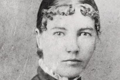 Laura Ingalls Wilder, aged 20