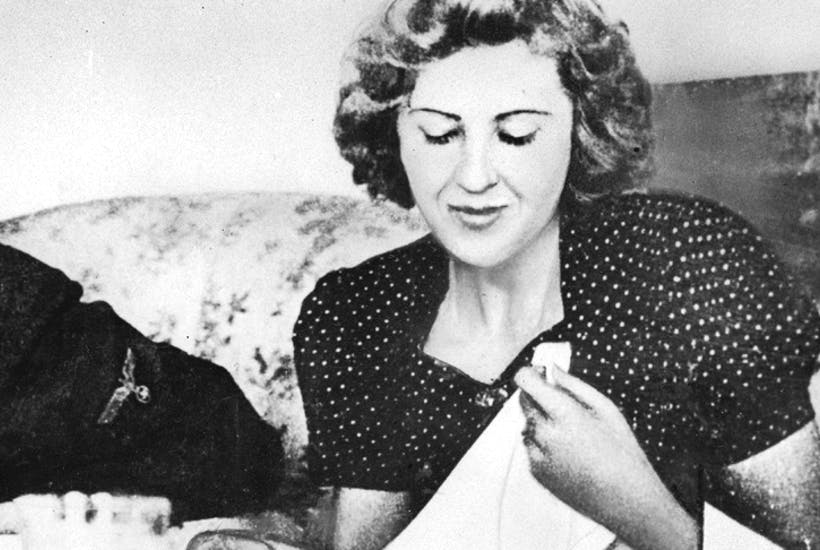 Eva Braun dieted obsessively, but didn't hold back on the pilfered champagne