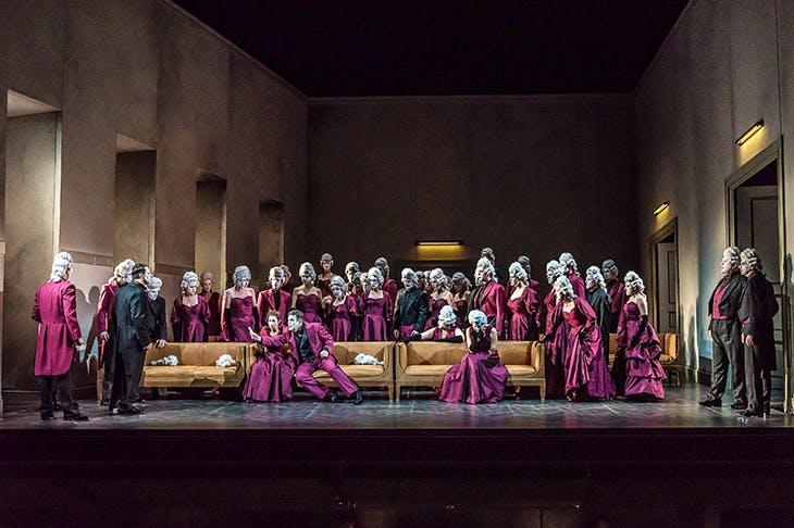 Ball breaker: Opera North's production of Un ballo in maschera