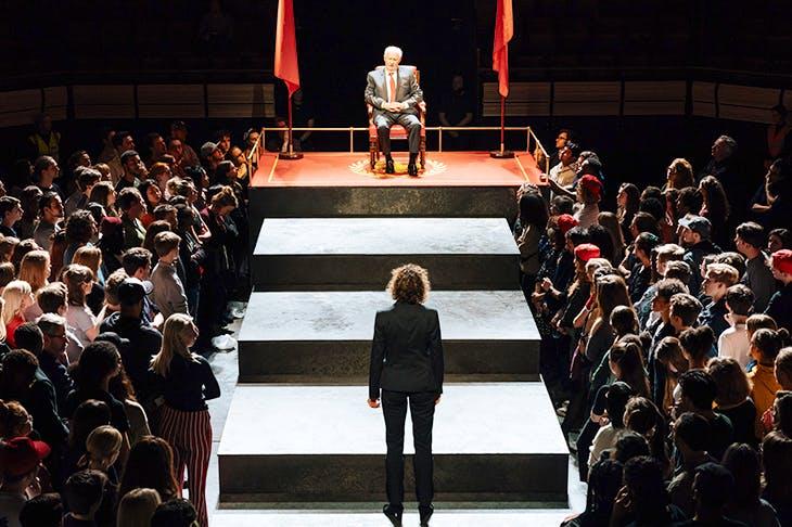 David Calder as Caesar in Nicholas Hytner's Julius Caesar