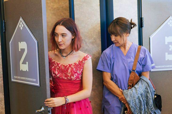 Girls having mums. That's where it's at: Saoirse Ronan as Lady Bird and Laurie Metcalf as Marion
