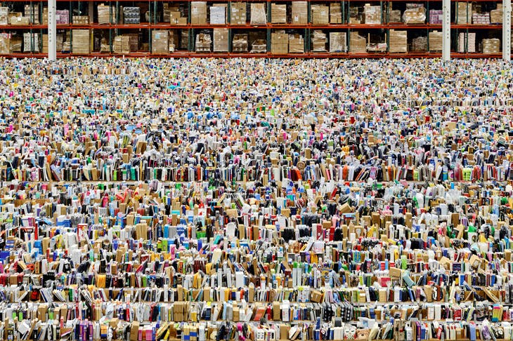 'Amazon', 2016, by Andreas Gursky