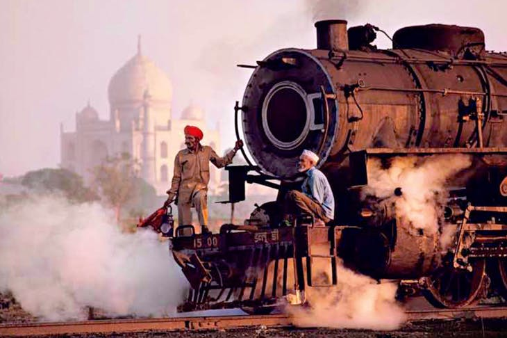 Cover shot of Railways and the Raj