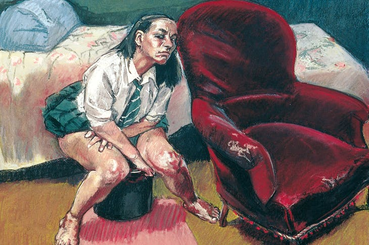 Exemplary candour: detail from Paula Rego's 'Abortion Sketches' (1998)