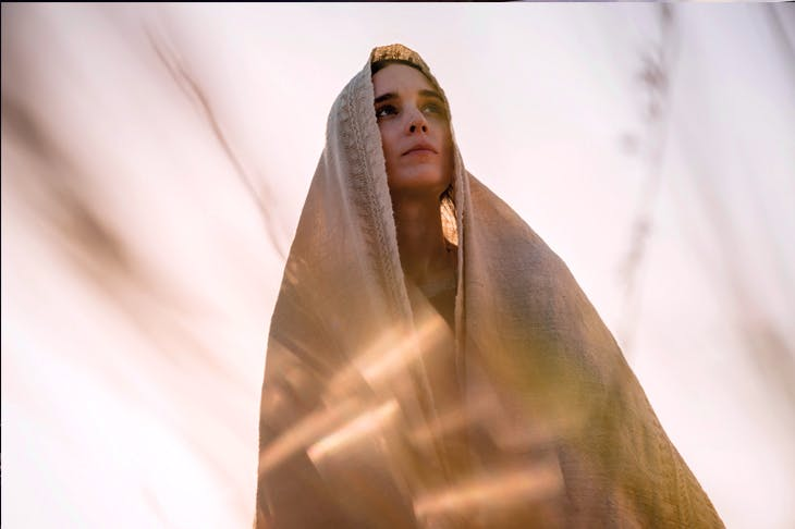 A belt would have worked wonders: Rooney Mara as Mary Magdalene