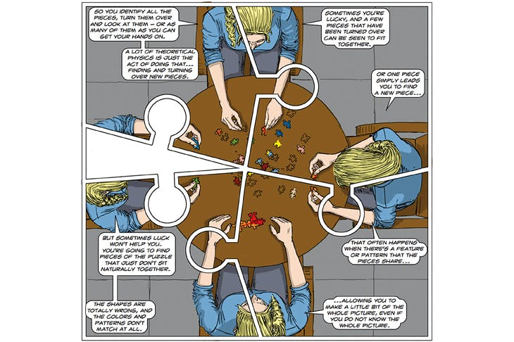 Jigsaw discussion, from Clifford V. Johnson's The Dialogues