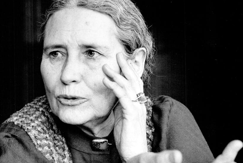 Doris Lessing in her mid sixties