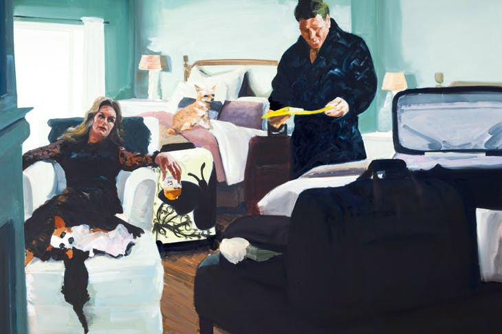'The Appearance', 2018, by Eric Fischl
