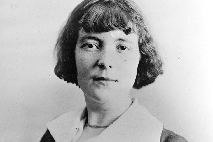 Katherine Mansfield (1888-1923) in about 1920