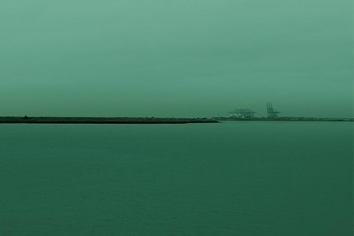 'Horizons II, (Allhallows towards London Gateway Port), England', 2015, by Nadav Kander