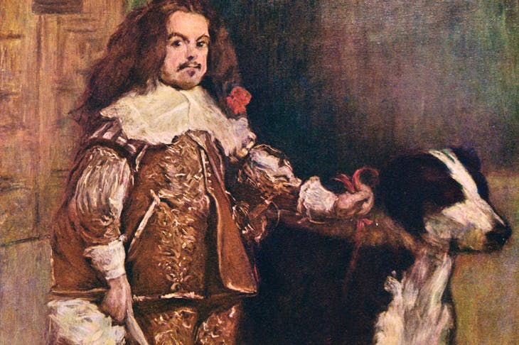 The Spanish court's fondness for dwarfs and dogs is captured by Velázquez
