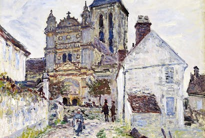 The Church at Vétheuil, 1878