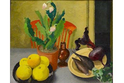 'The Orange Chair', 1944, by Cedric Morris