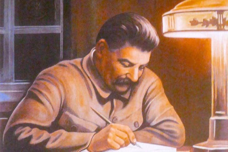 Millions of copies of Stalin's works were printed,but few survive