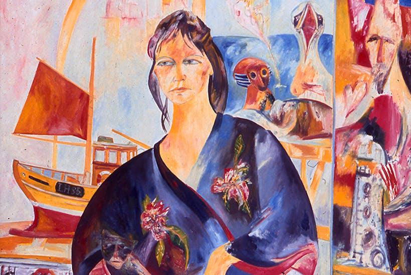 Portrait of Helen by John Bellany