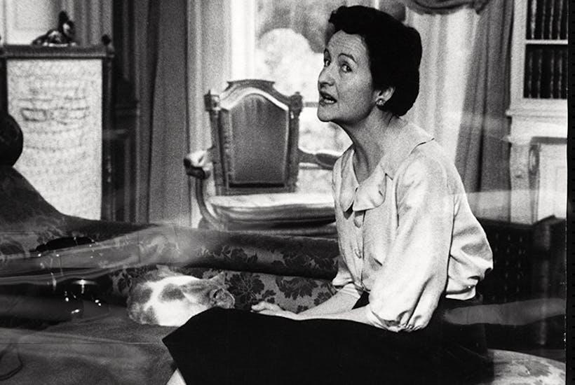 Nancy Mitford in Paris (Hulton Deutsch/Getty)