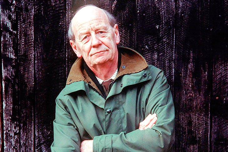 William Trevor, photographed in 1993