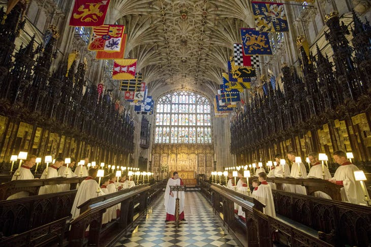 One of the last remaining all-boys' choirs in Britain, St George's Chapel Choir, which sang in the recent royal wedding in Windsor