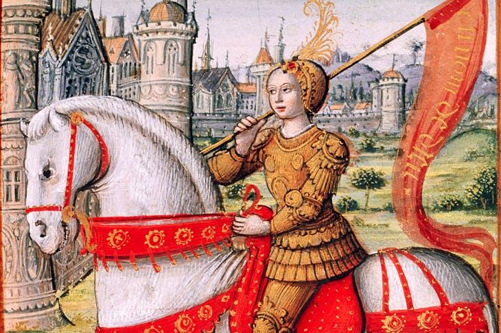 Joan of Arc from 'Vie des Femmes Celebres', 1505
