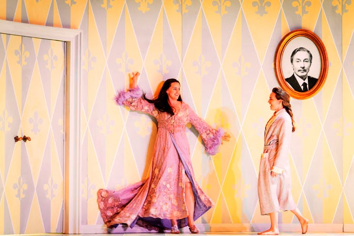 Rachel Willis-Sorensen as the Marschallin and Kate Lindsey as Octavian in Der Rosenkavalier at Glyndebourne Festival