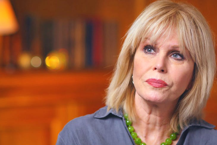 Joanna Lumley plays Mrs God in BBC Radio 4's new play Michael Frayn's Pocket Playhouse (Credit: ITV/ Rex/ Shutterstock)