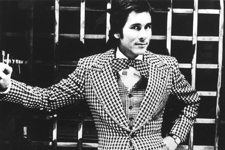 Tommy Nutter in 1973 — the most exciting tailor on Savile Row in decades, according to Hardy Amies