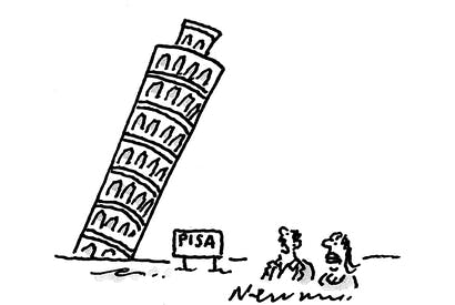 'The tower's fine but the country's collapsing.'